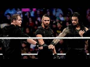 THE SHIELD REUNITE AND ATTACK BROCK LESNAR!!!!!! - YouTube