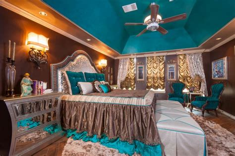 picturesque teal  brown combination ideas   apply