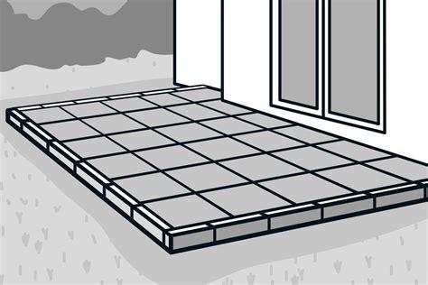 Betonplatten Versiegeln Material by Betonplatten Verlegen