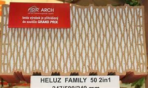 Heluz family 50 2in1 zkusenosti