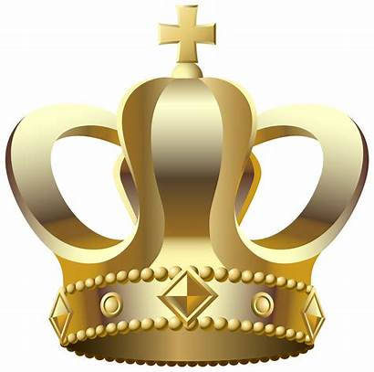 Crown Transparent Clip Gold Clipart Crowns Things