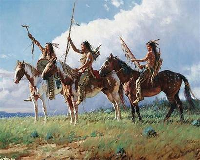 American Indian Wallpapers Native Warrior Cave