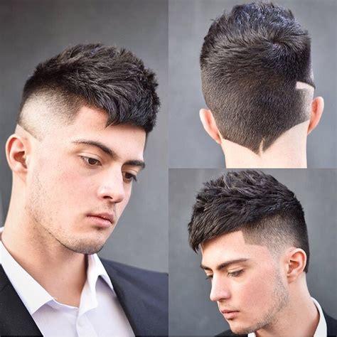 latest popular neckline hair design mens hairstyles haircuts
