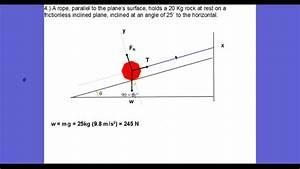 Force Diagram Practice Problems And Sample Problem 4d