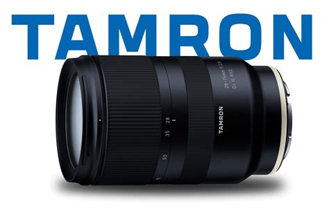 new tamron 28 75 f 2 8 lens their for sony fe mount light and matter