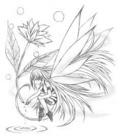 Anime Flower Fairy Drawing