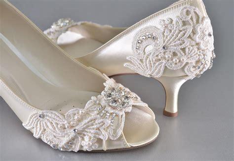 Woman's Low Heel Wedding Shoes Woman's Vintage