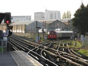 Bakerloo Train Waits To Leave Peter Whatley