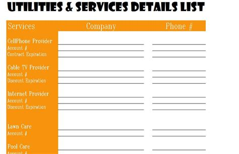 inventory tracking excel utilities and services detail list my excel templates