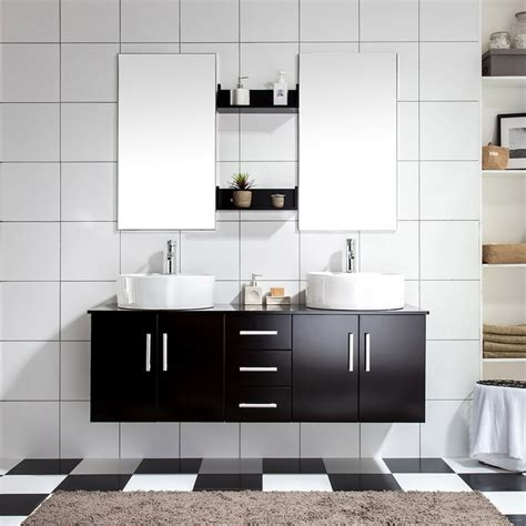 ares wenge ensemble salle de bains meuble 2 vasques 2 miroirs 949 salle de bain wc