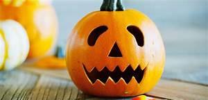 Visage Citrouille Halloween : d co d 39 halloween 5 citrouilles originales faire soi m me grazia ~ Nature-et-papiers.com Idées de Décoration