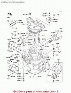 Kawasaki Kdx200 Cylinder