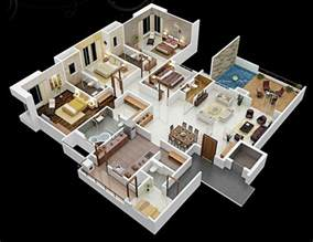 4 bedroom 2 house plans 4 bedroom apartment house plans