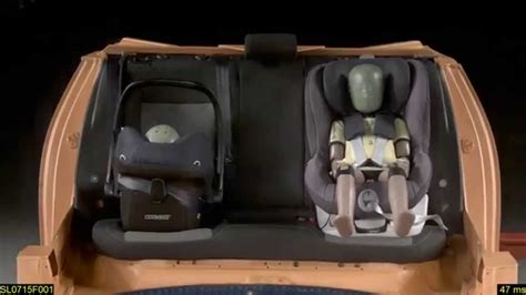 britax römer king ii crash test frontal maxi cosi pebble plus y britax romer king ii ls prueba de impacto 2015