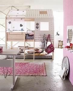 Lit Maison Fille : le plus beau lit cabane pour votre enfant ~ Teatrodelosmanantiales.com Idées de Décoration