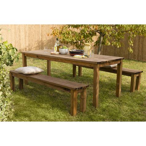 chaise jardin pas cher mobilier de jardin bois luxe salon de jardin table et