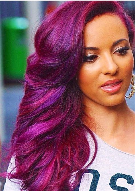Hair & Beauty Glossary Purple hair Hair styles Hair