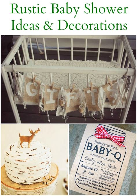 baby shower ideas for to be 20 rustic baby shower ideas rustic baby chic