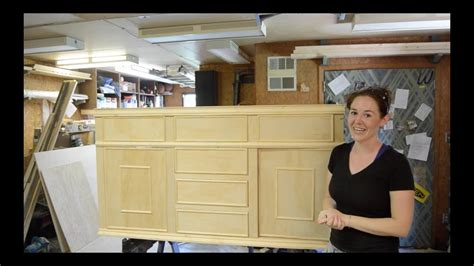 how to build kitchen sink cabinet building a sink bathroom vanity part 2 8517