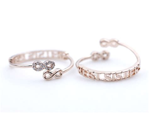 Infinity Best Sister Knuckle Ring In Rose Gold(adjustable. Hand Rings. Weird Wedding Wedding Rings. Imran Name Engagement Rings. Classic Pavé Solitaire Engagement Rings. Jewlr Rings. Designer Rings. Colored Diamond Engagement Rings. Malayalam Wedding Wedding Rings