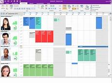 Wallchart resource scheduling system cloud or on premises