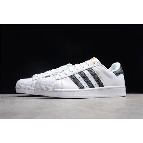 adidas originals superstar snake stripes whiteblack