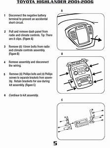 2006 Toyota Highlander Radio Wiring Diagram