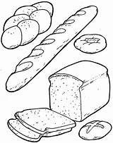 Coloring Bread Breakfast Printable Preschool Sheets Worksheets Loaf Cartoon Toddler Kindergarten Colouring Crafts Breads Template Preschoolactivities Cheese Adult Activities Worksheet sketch template