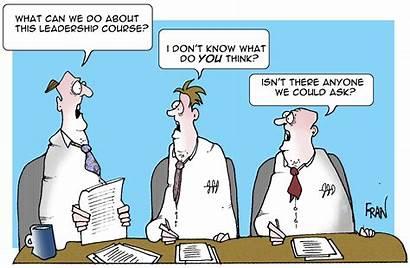 Leadership Cartoon Management Leader Leaders Difference Between