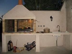 Cuisine D Ete : construire une cuisine d t en plein air barbecues ~ Melissatoandfro.com Idées de Décoration