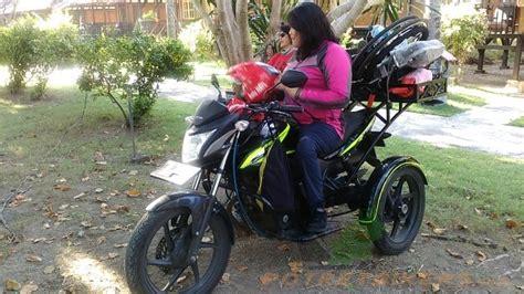 Kendarai Honda Verza 150 Ber-roda 3, Neng Shinta Hadiri