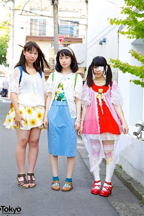 harajuku idol girls  plush backpacks blythe teddy bear