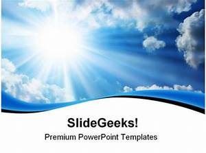 Blue Sky Nature Powerpoint Templates And Powerpoint