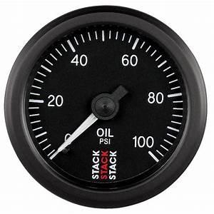 Stack Professional Oil Pressure Gauge 0