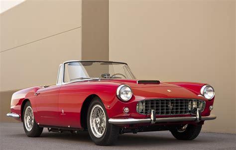 I couldn't get over it. Wallpaper Retro, Ferrari, Red, Car, Car, 250 images for desktop, section ferrari - download