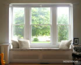 Living Room Curtain Ideas For Bay Windows window seat cushions casual cottage