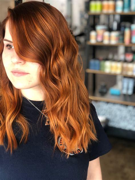 peachy hair   biggest trend   summer