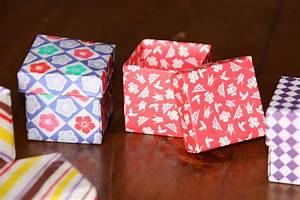 Comment Faire Une Boite En Origami : origami facile boite cubique ~ Dallasstarsshop.com Idées de Décoration