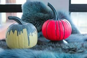 Halloween Kürbis Bemalen : halloween deko basteln k rbisse dekorieren ~ Eleganceandgraceweddings.com Haus und Dekorationen