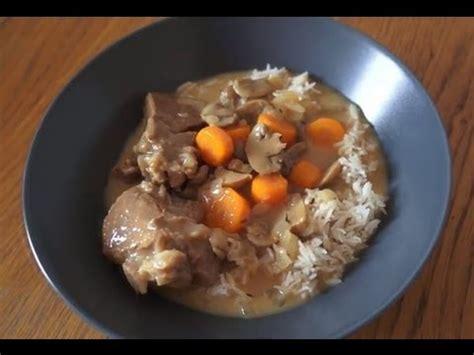 moulinex cuisine companion recettes recette de blanquette de veau recette cuisine companion