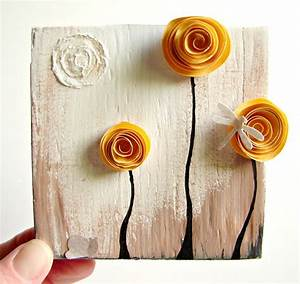 Recycled art crafts beautiful wall decoration with