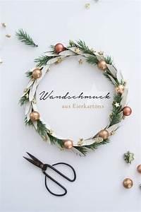 Weihnachtskranz Selber Basteln : weihnachtskranz aus eierkarton handmade kultur ~ Eleganceandgraceweddings.com Haus und Dekorationen