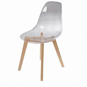 Chaise Bébé Scandinave : chaise scandinave transparente ice maisons du monde ~ Teatrodelosmanantiales.com Idées de Décoration