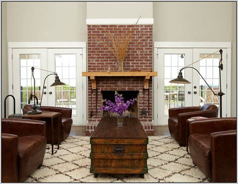 25 painted brick fireplaces in the living room decoration love