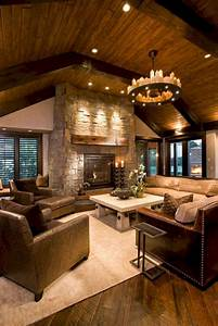 31, Opulence, And, Inspiring, Cozy, Living, Room, Designs