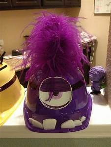 DIY evil minion costume hat. From despicable me 2 movie ...