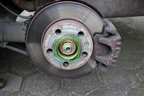 radlager golf 4 achsmutter anleitung f 252 r 180 s ankerblech radlager radnabe abs sensor hinten wechseln vw