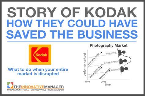 story  kodak     saved  business
