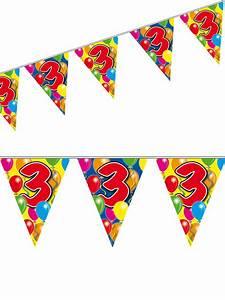 Deko 3 Geburtstag : 3 geburtstag wimpel girlande party deko bunt 10m geburtstag ~ Whattoseeinmadrid.com Haus und Dekorationen