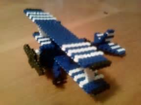 3D Perler Bead Minecraft